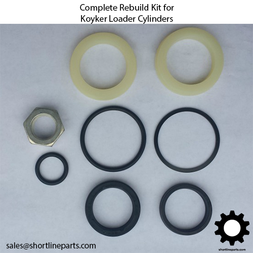"K672928 Seal Kit for 2-3/4"" Koyker Cylinders with a 1-1/2"" rod"