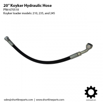 "20"" Koyker Hydraulic Hose - Loader Models 210, 235, and 245 - Part Number 670518"