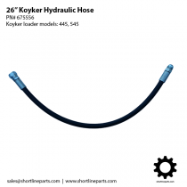 "26"" Hydraulic Hose for Koyker Loader Models 445 and 545 - 675556"