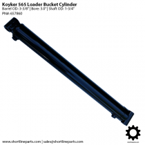 "Koyker Loader 565 Bucket Cylinder - 3"" Bore - 657860"