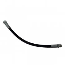 """18"""" Hydraulic Hose for Koyker Loader Models 180, 185, 190, 195, 220, 445, 545, and 585 - 673993"""