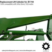 Replacement Lift Cylinder for JD 740 Loader - Replaces AH141086