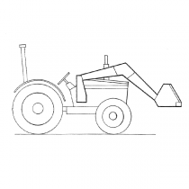 Koyker K1 Front End Loader Replacement Parts - Cylinders - Seals - Aluminum Nut - Piston Plunger - Rams