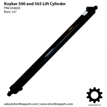 Koyker 500 and 565 Loader Parts - LIft Cylinder - Part Number 654658