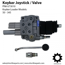 Valve and Joystick for Koyker Loaders - PN# 673010 - Pace 7040