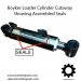 2-1/4 Inch Seals Shown Assembled in Koyker Loader Cylinder