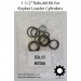 "K670084 1.5"" Cylinder Seal Kit for Koyker 50 and Koyker 80 Lift and Bucket Cylinders"