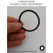 O-Ring for Gland Included in 2-in Rebuild Kit for Koyker 145 Loader Lift and Bucket Cylinders