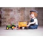 Farm Toy Feeder Wagon Yellow