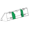 Replacement Quick Change Attachment Kit for John Deere 640 and 740 Loaders
