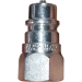"""Pioneer Style Male Coupler for Compact Equipment - 1/4"""" Pipe Thread"""