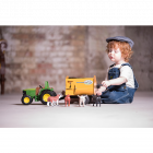 Farm Toy Feeder Wagon Yellow
