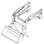 Koyker 155 loader OEM replacement parts
