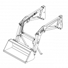 Koyker 165 loader OEM replacement parts