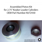 "K672930 OEM Assembled Piston with Seals for 2-3/4"" Koyker Cylinders"
