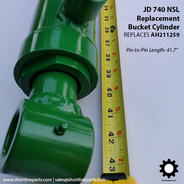 Replacement Parts for John Deere 740 NSL Front End Loader
