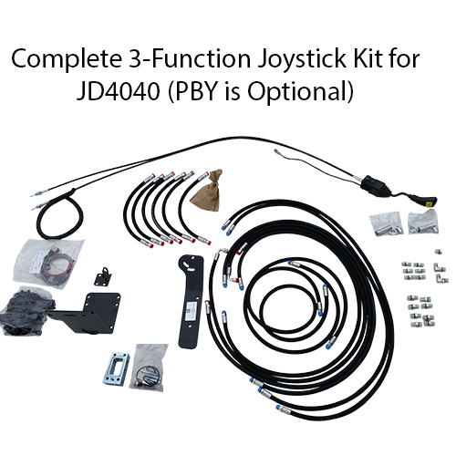 short line parts complete joystick package parts for koyker front john deere 1020 wiring harness all components included in joystick kit for john deere 4040 tractor