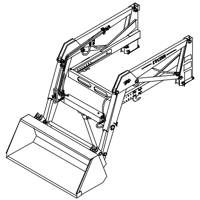 Koyker 160 Loader Hydraulic Schematic